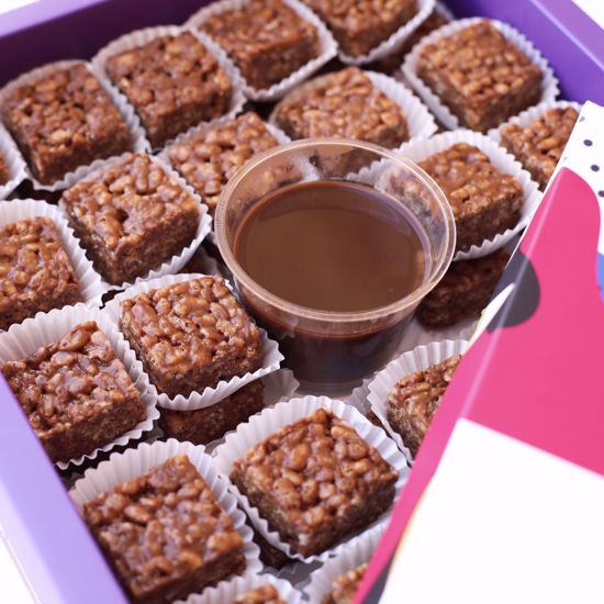 Picture of Rice Crispy with Chocolate 45 pcs